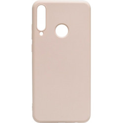 Силикон Huawei Y6P pink sand Silicone Case