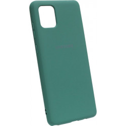 Силикон SA N770 Note10 Lite dark green Silicone Case