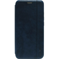 Чехол-книжка Xiaomi Redmi 9A dark blue Leather Gelius