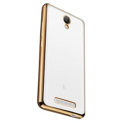 Силикон Xiaomi Redmi Note2 gold bamper